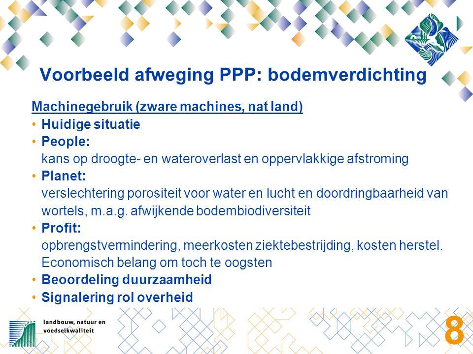 9 Conclusies (1) Op basis van de uitgangspunten en uitkomsten van de inventarisaties in dit project gebruiken agrariërs de bodem redelijk duurzaam