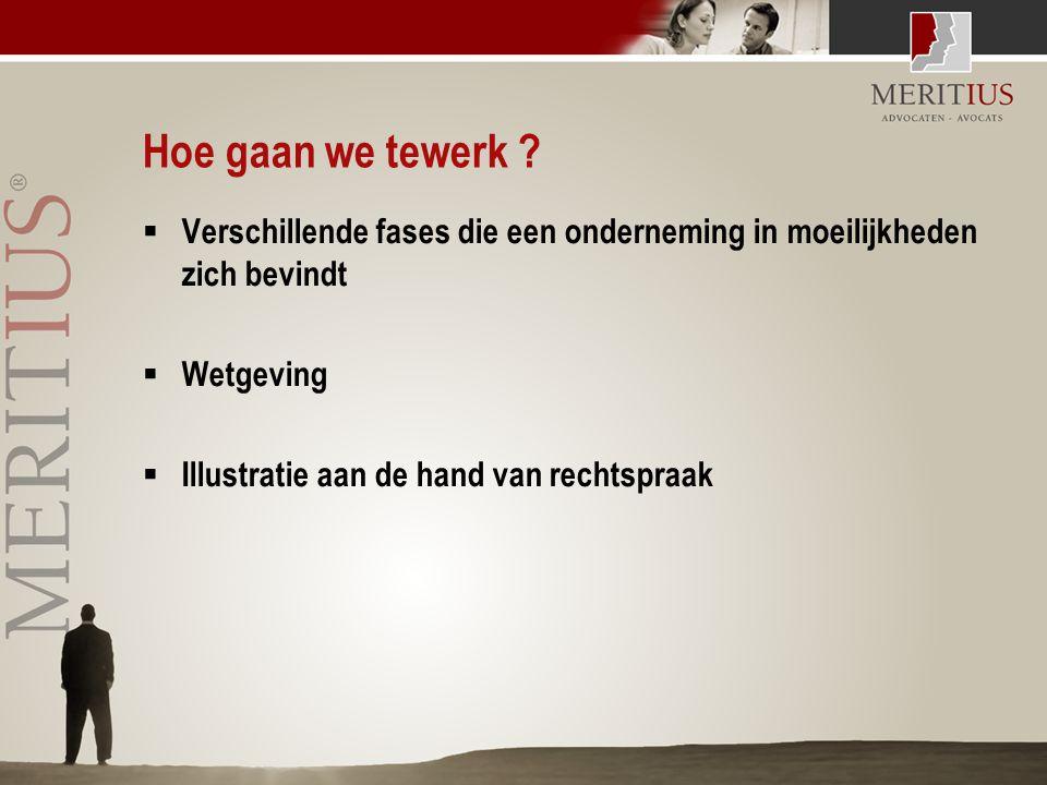 Rechtspraak  Kh Antwerpen, 20 december 2001 –De bestuurders zijn aansprakelijk wanneer zij nalieten toepassing te maken van de alarmbelprocedure terwijl zij n.a.v.