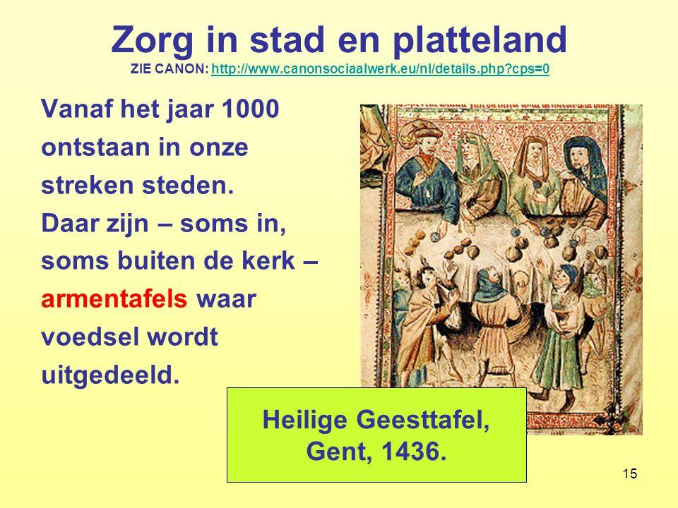 15 Zorg in stad en platteland ZIE CANON: http://www.canonsociaalwerk.eu/nl/details.php?cps=0http://www.canonsociaalwerk.eu/nl/details.php?cps=0 Vanaf