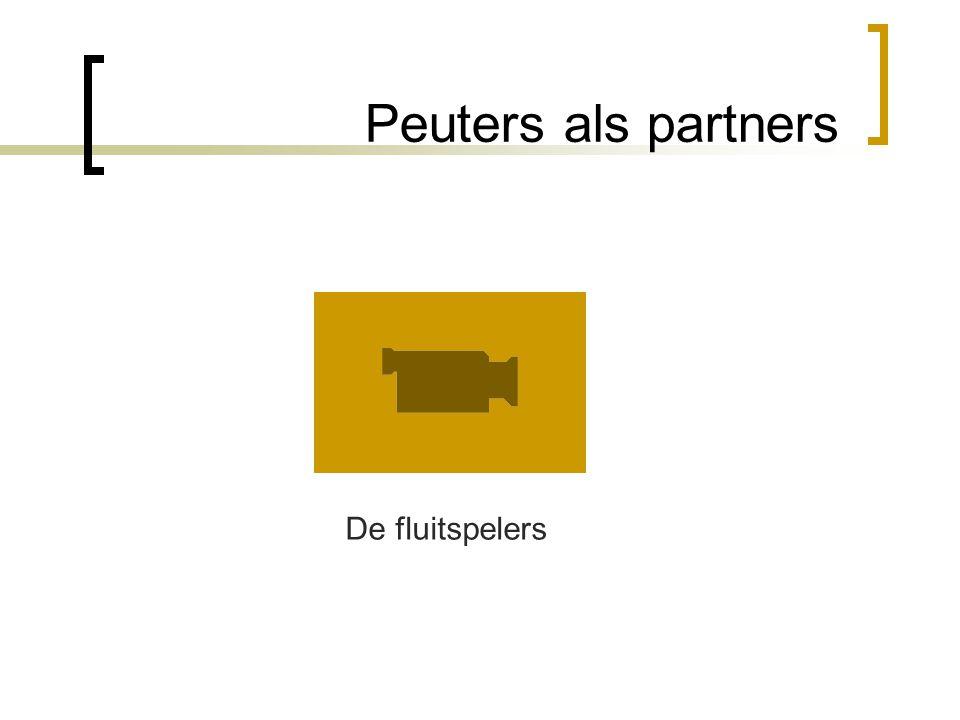 Peuters als partners De fluitspelers