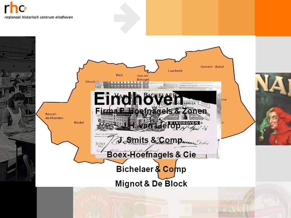 Sporen van de sigarenindustrie in het huidige straatbeeld in Eindhoven