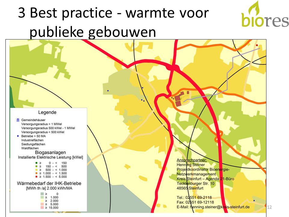3 Best practice - warmte voor publieke gebouwen 12