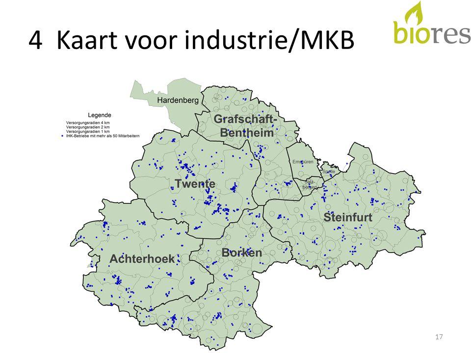 4 Kaart voor industrie/MKB 17