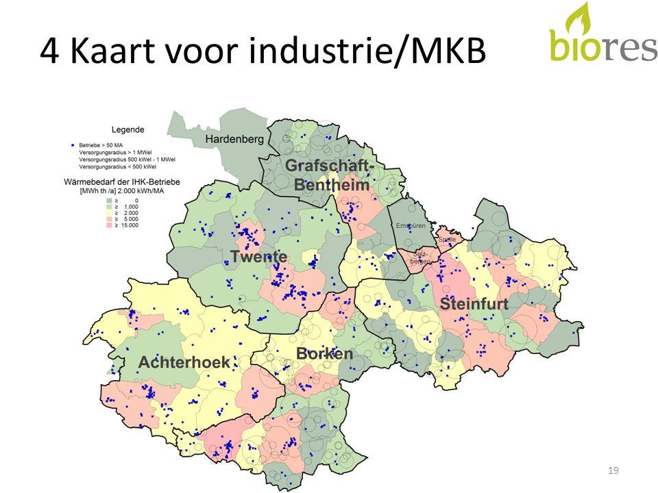 4 Kaart voor industrie/MKB 19