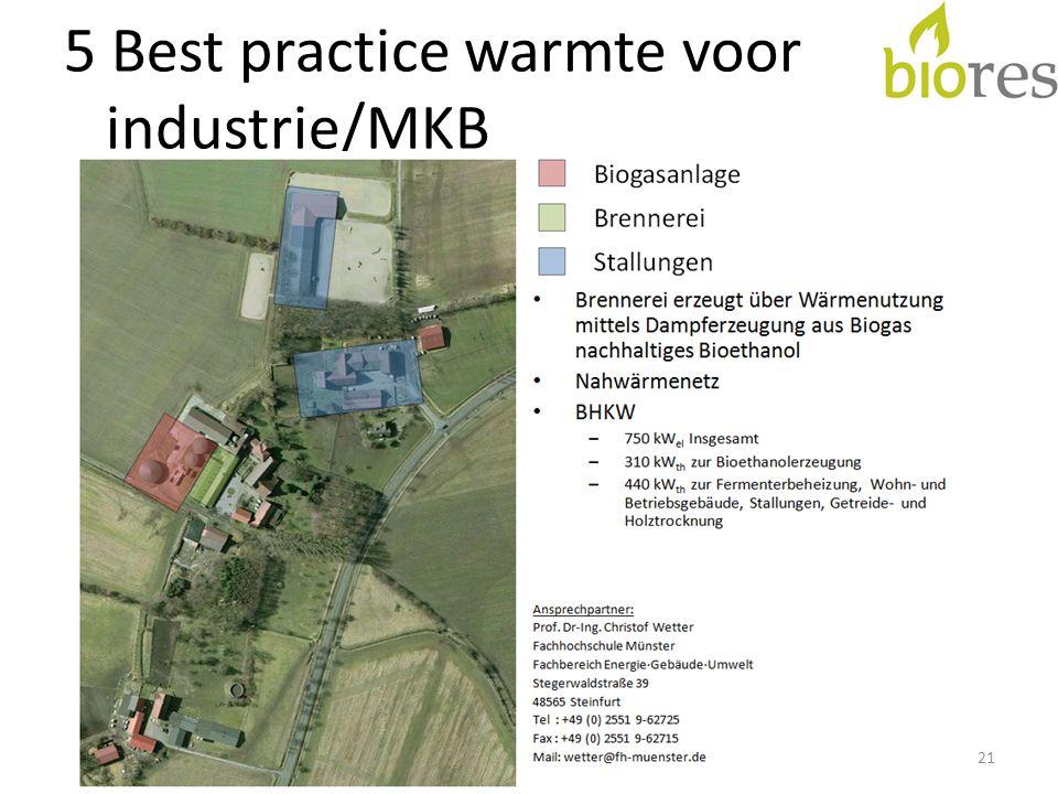 5 Best practice warmte voor industrie/MKB 21