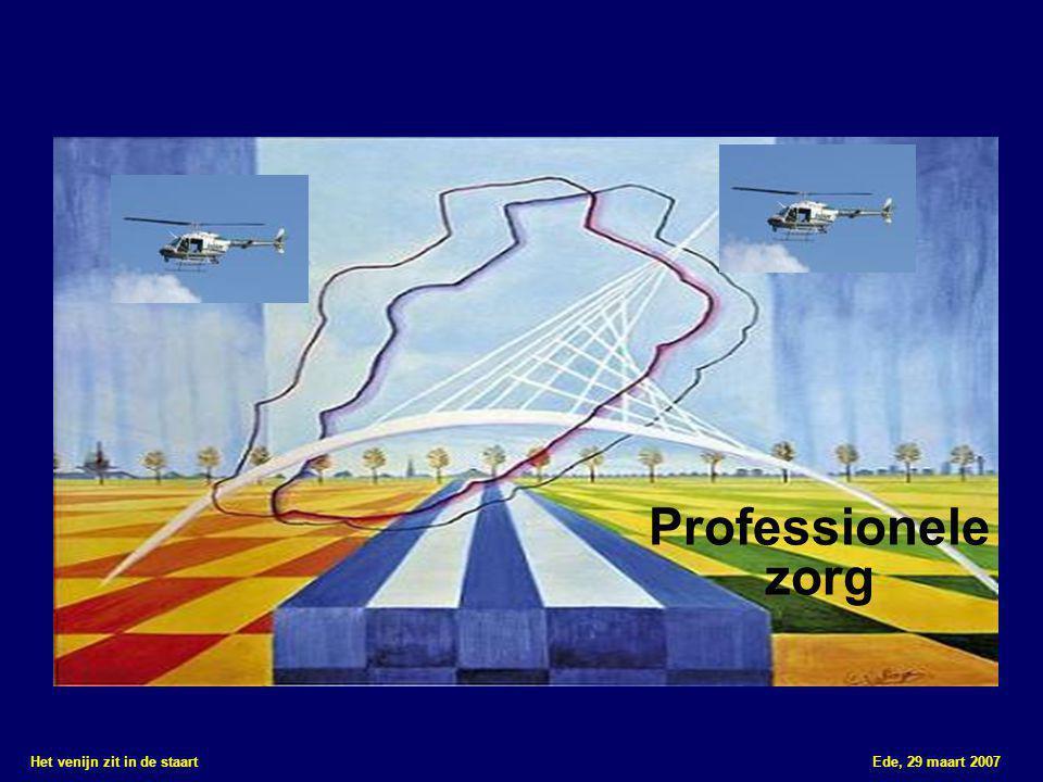 Het venijn zit in de staart Ede, 29 maart 2007 Professionele zorg