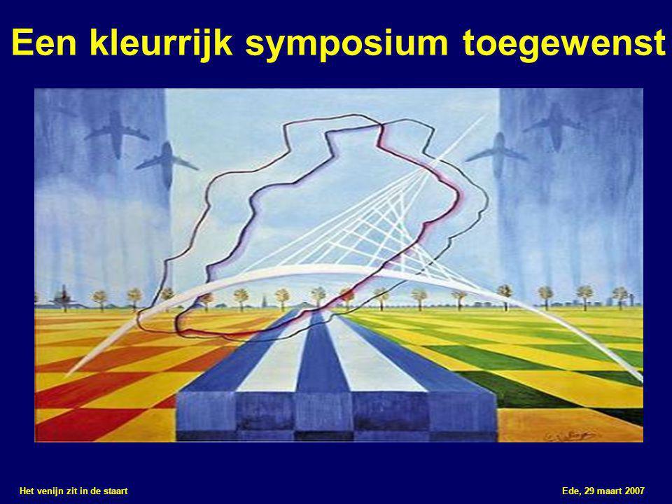 Een kleurrijk symposium toegewenst