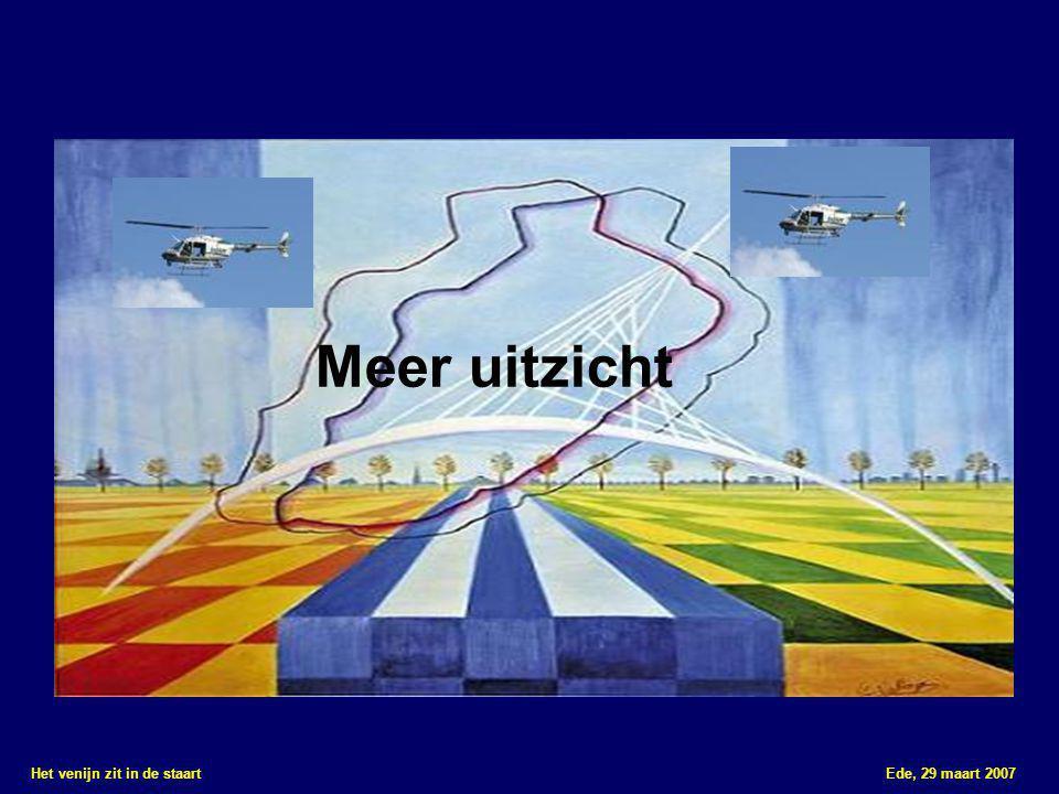 Het venijn zit in de staart Ede, 29 maart 2007 Meer uitzicht Meer inzicht