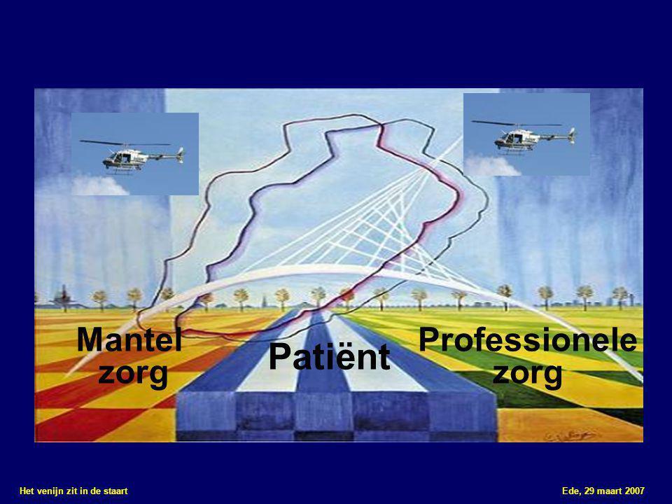 Het venijn zit in de staart Ede, 29 maart 2007 Minisymposia middag ■ Regie over eigen situatie in de chronische fase ■ Mantelzorg bij NAH getroffenen