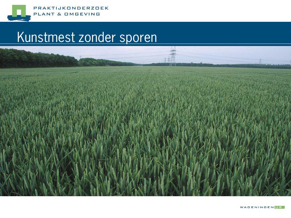 Schade in de sporen  vochttoestand grond  grondsoort  bandenkeuze en bandenspanning  groeistadium gewas