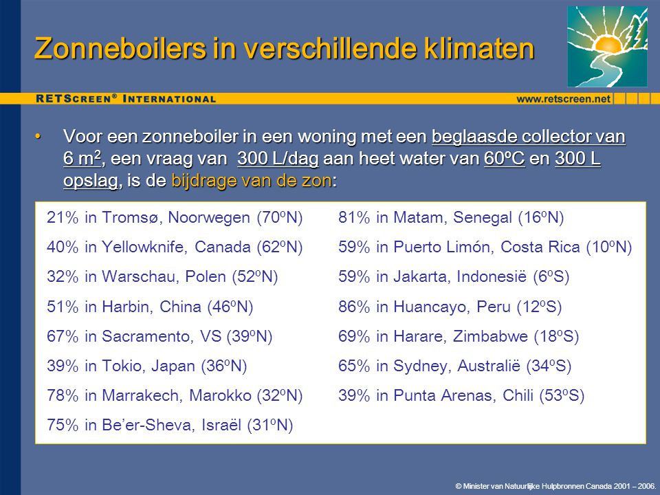 © Minister van Natuurlijke Hulpbronnen Canada 2001 – 2006.