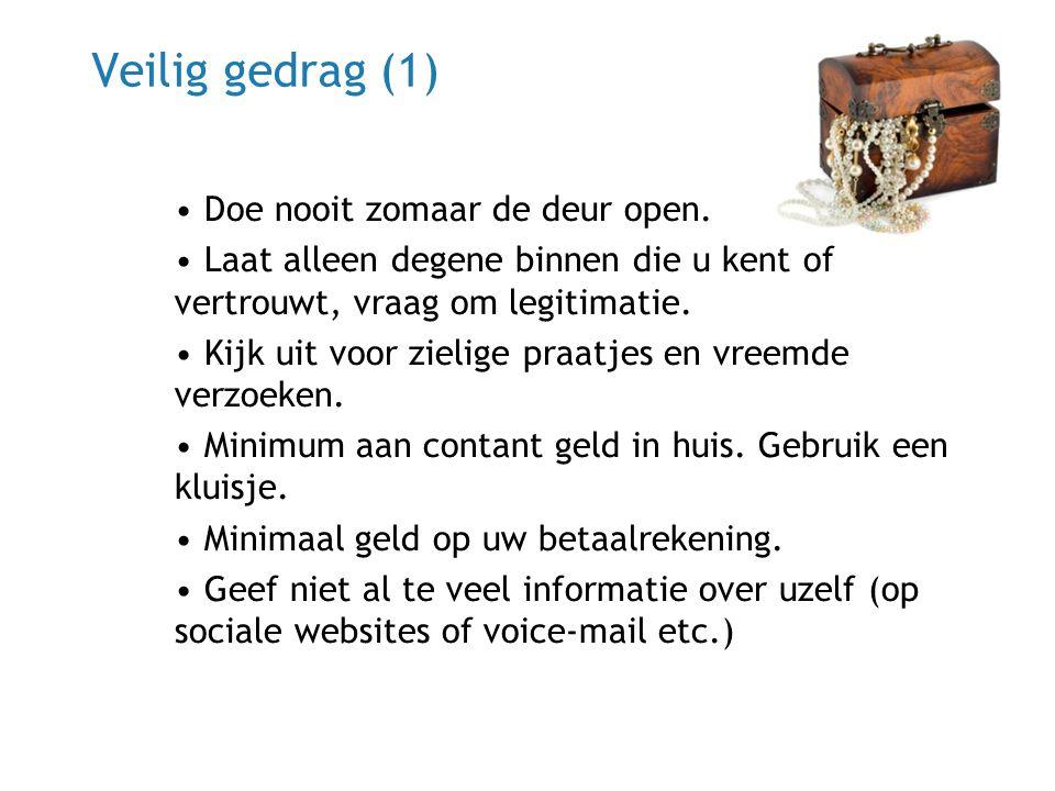 22 juni 2014 |13 Veilig gedrag (1) • Doe nooit zomaar de deur open.