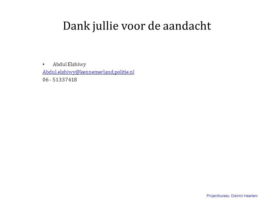 Projectbureau District Haarlem Hoe kun je beter omgaan met jongeren uit de straatcultuur II • Uit de anonimiteit halen. • In de anonimiteit halen jong