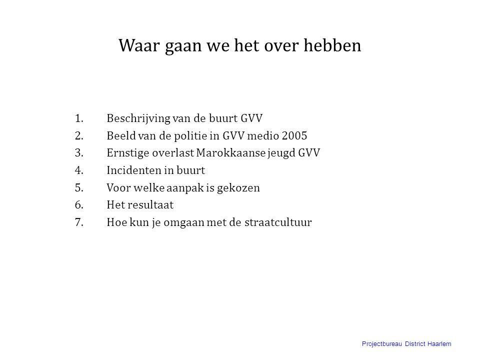 Projectbureau District Haarlem Omgaan met Marokkaanse jongeren in Graan voor Visch Hoofddorp. U kunt de wind niet veranderen, maar hoe de zeilen staan