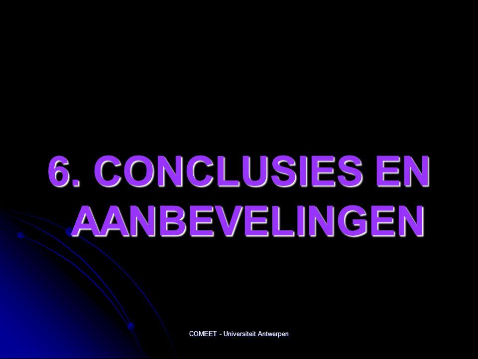 6. CONCLUSIES EN AANBEVELINGEN