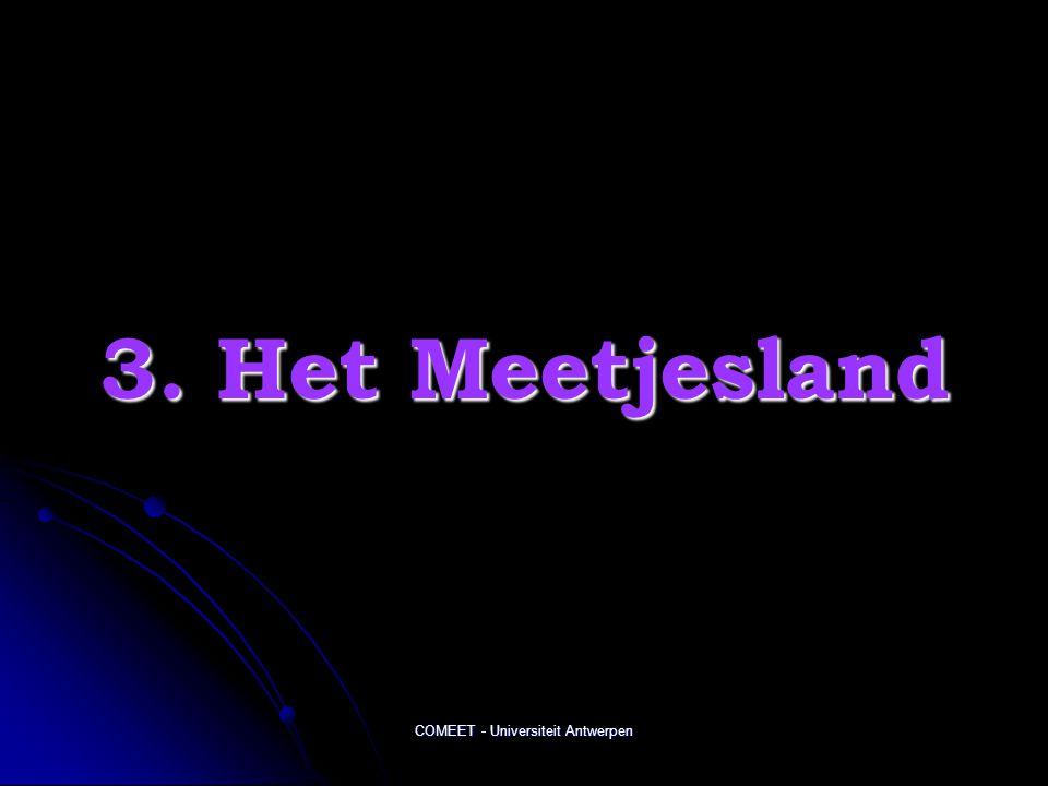 COMEET - Universiteit Antwerpen 3. Het Meetjesland