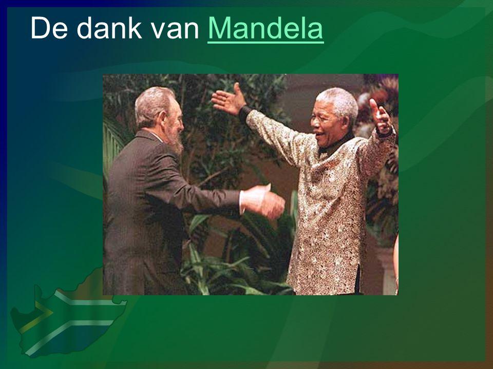 De dank van MandelaMandela