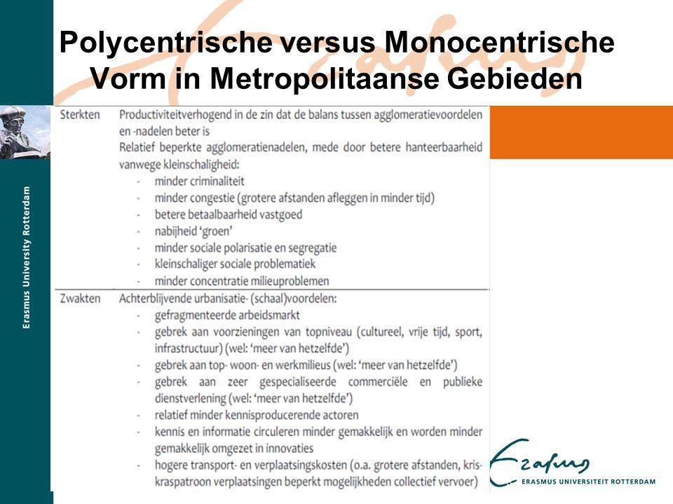 Beleidsimplicaties – Amsterdam •De vraag rest dan nog of het wijsheid is de internationale topfuncties in Amsterdam te concentreren.
