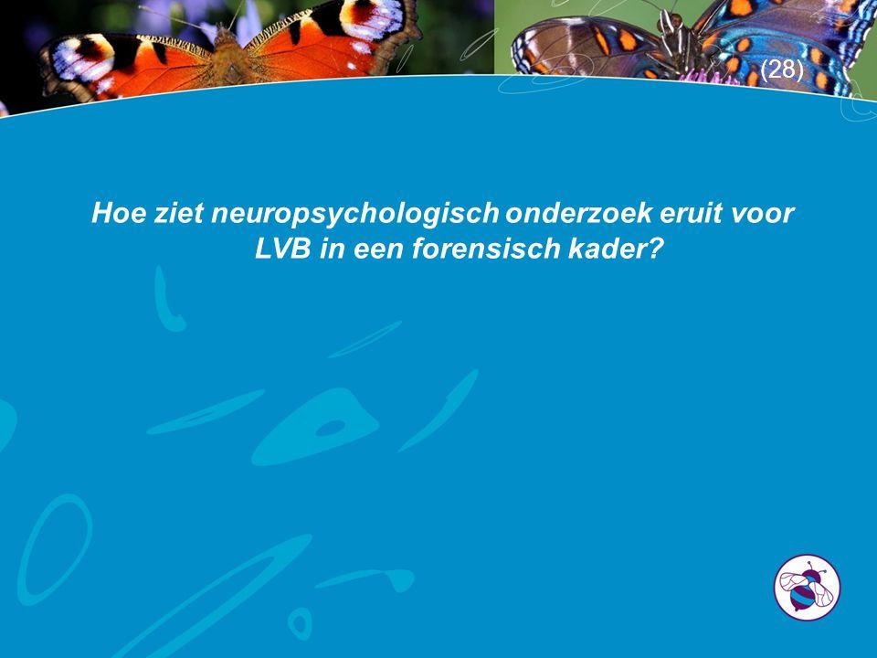 Hoe ziet neuropsychologisch onderzoek eruit voor LVB in een forensisch kader? (28)