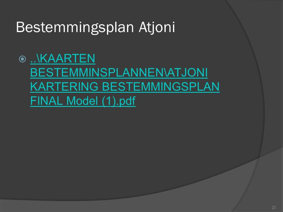 Bestemmingsplan Atjoni 23 ..\KAARTEN BESTEMMINSPLANNEN\ATJONI KARTERING BESTEMMINGSPLAN FINAL Model (1).pdf..\KAARTEN BESTEMMINSPLANNEN\ATJONI KARTER
