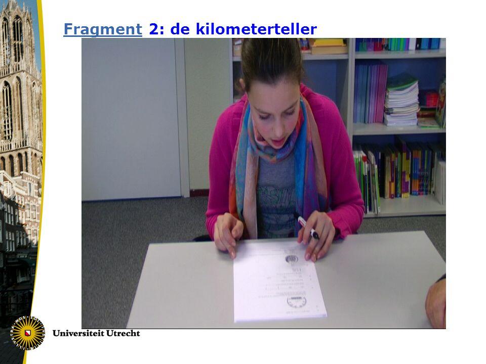 FragmentFragment 2: de kilometerteller