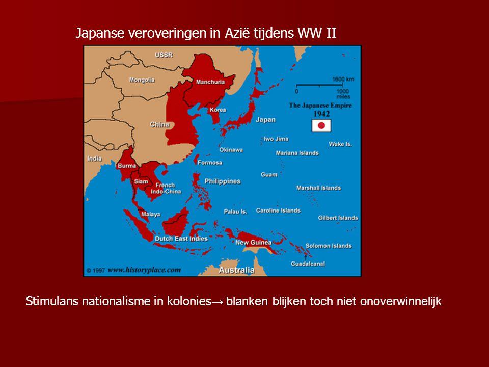 1.3 Dekolonisatie Kolonies in 1945