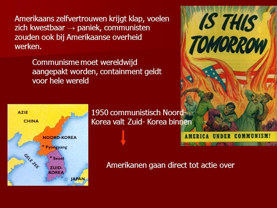 Mao en Stalin deelden hetzelfde communistische wereldbeeld van het westen: Verenigde Staten zijn geen haar beter dan koloniale onderdrukkers. Ook de A