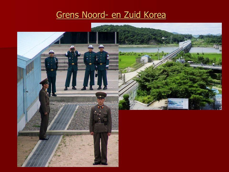 Bekijk de animatie van de Korea oorlog. Hoe verloopt de strijd? In 1953 volgt een wapenstilstand; de grenzen bleven ongeveer zoals ze in 1950 waren. D