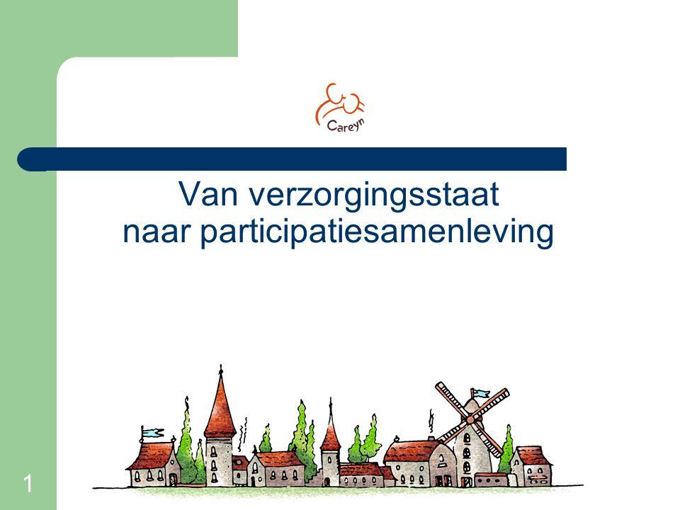1 Van verzorgingsstaat naar participatiesamenleving