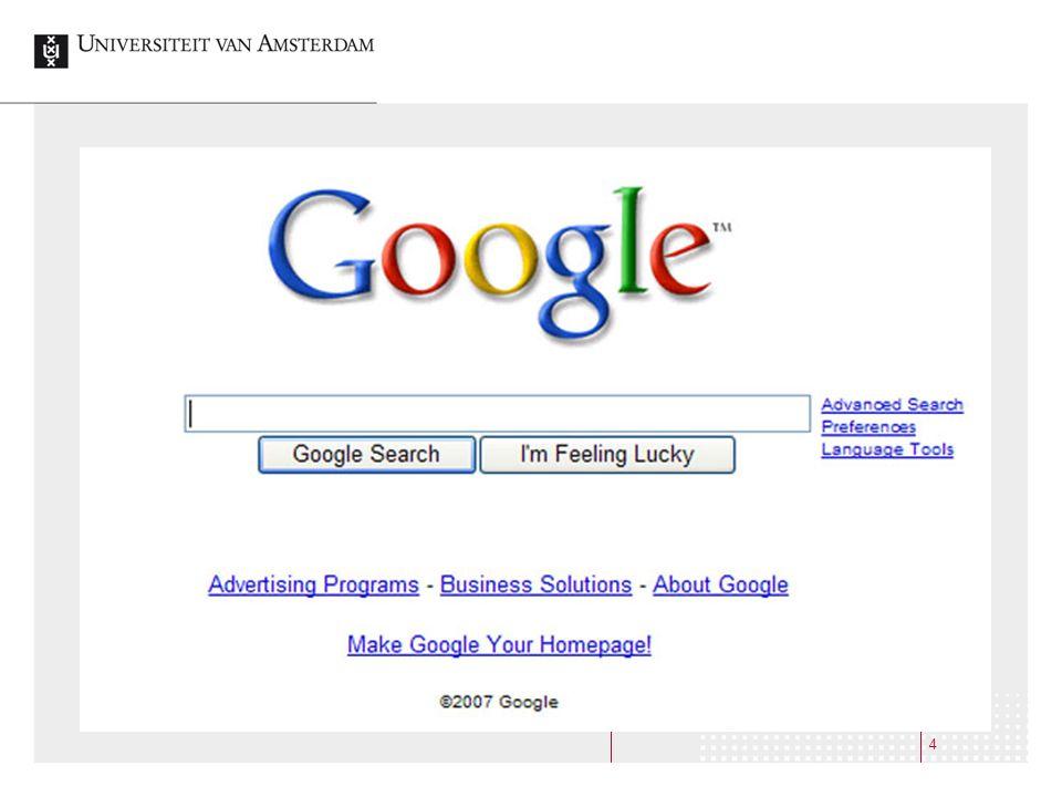 15 Leerling:Wij gingen hierheen [typt in www.pathe.nl]www.pathe.nl Docent:Waarom kozen jullie die site uit.