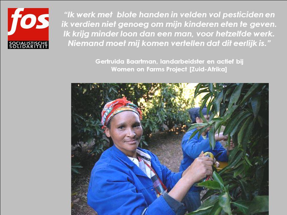 Ik werk met blote handen in velden vol pesticiden en ik verdien niet genoeg om mijn kinderen eten te geven.
