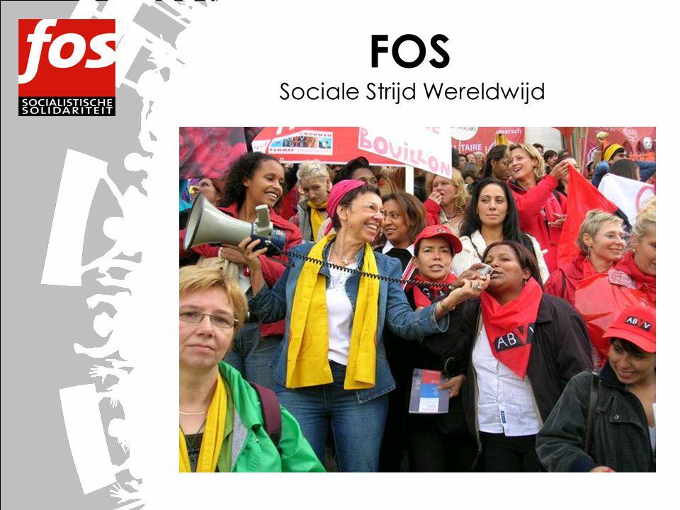 FOS Sociale Strijd Wereldwijd