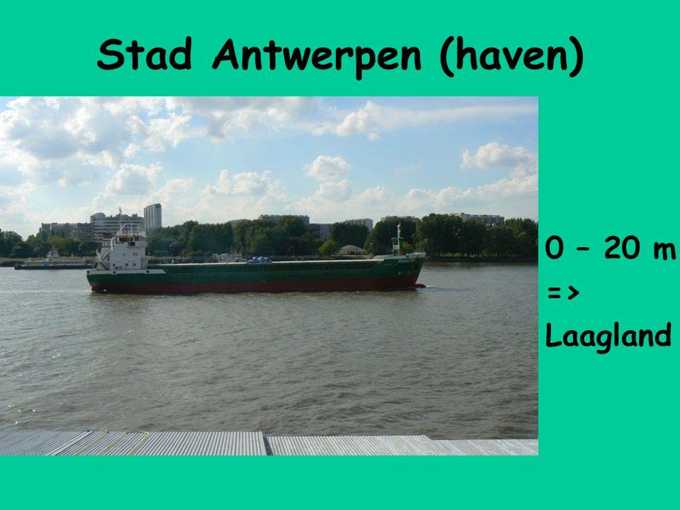 Stad Antwerpen (haven) 0 – 20 m => Laagland