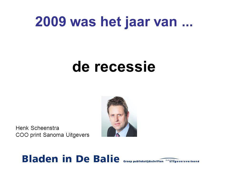 2009 was het jaar van...besparen, nog slimmer & creatiever ondernemen.
