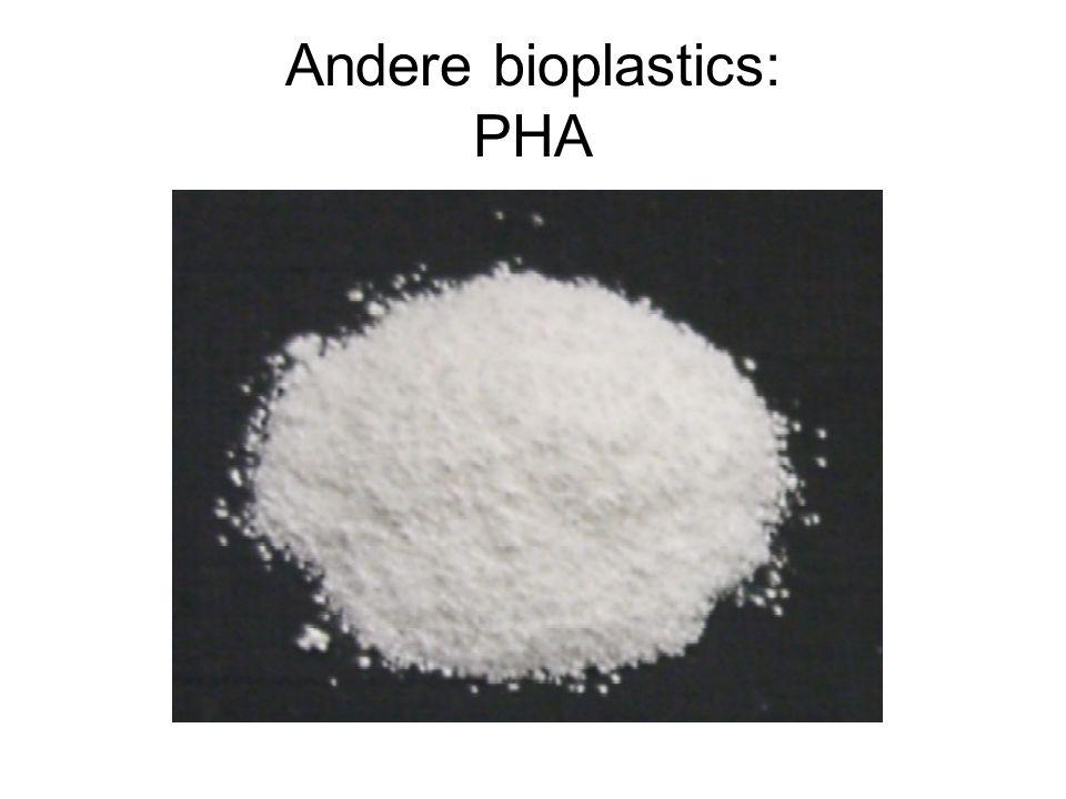 Andere bioplastics: PHA