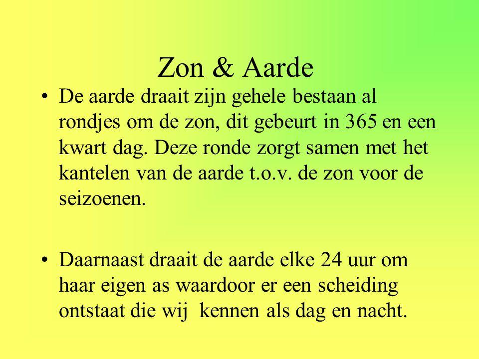 •Deze twee cycli, de seizoenen en dag en nacht, vormen de basis voor het leven.