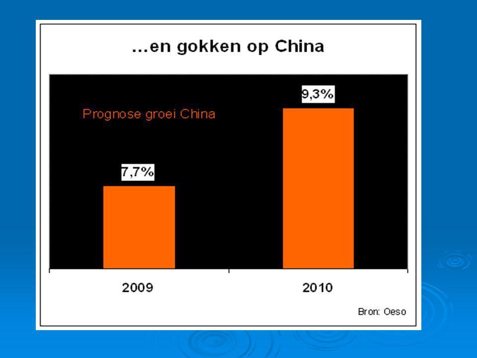 Economie van India groeit minder hard in 2009.