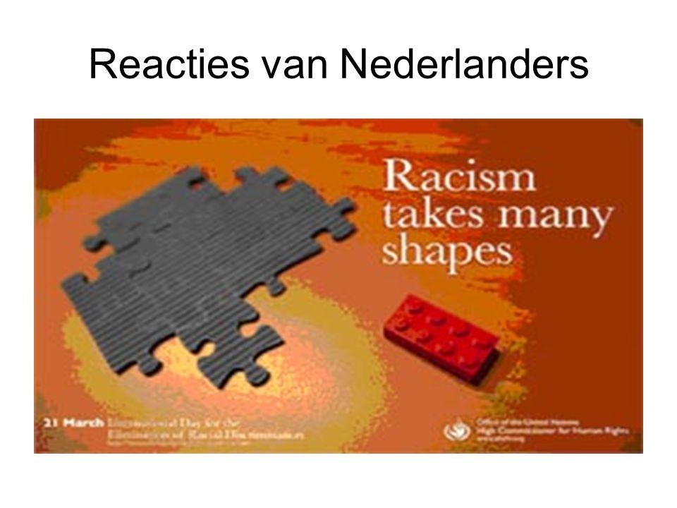Reacties van Nederlanders