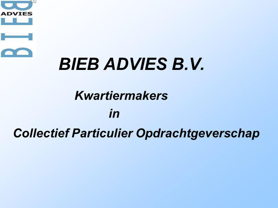 BIEB ADVIES B.V. Kwartiermakers in Collectief Particulier Opdrachtgeverschap