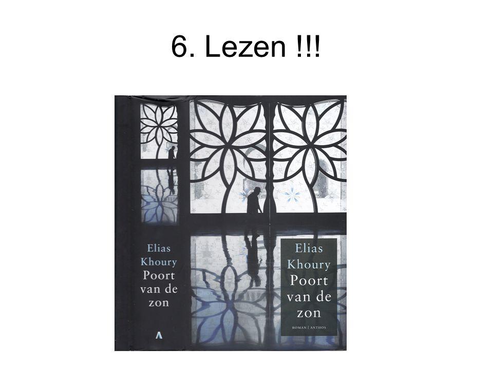 6. Lezen !!!
