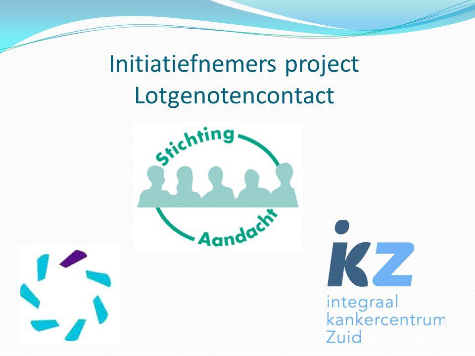 Initiatiefnemers project Lotgenotencontact