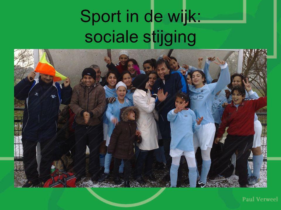 Sport in de wijk: sociale stijging