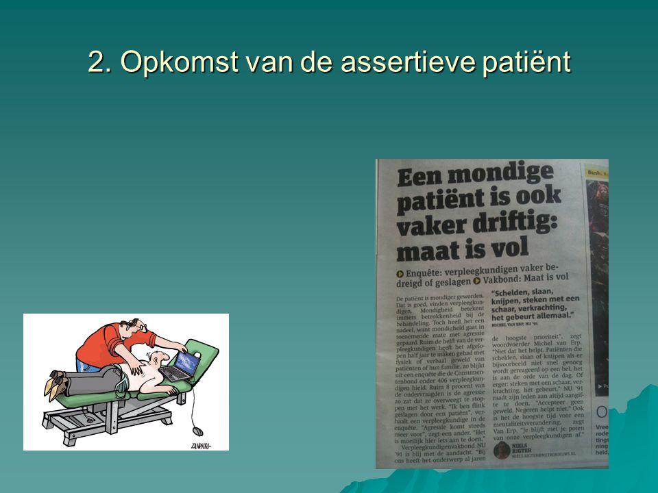 2. Opkomst van de assertieve patiënt
