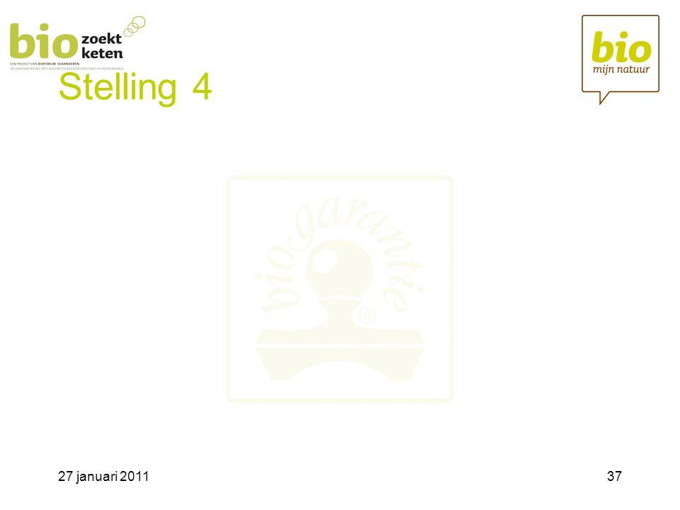 27 januari 201137 Stelling 4