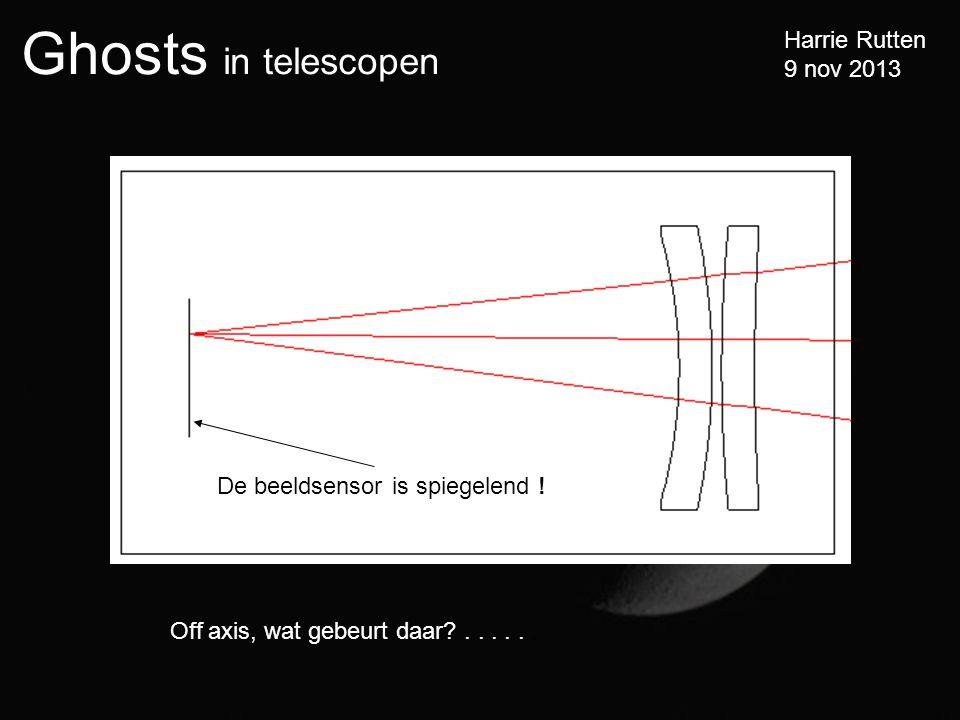 Ghosts in telescopen Harrie Rutten 9 nov 2013 Off axis, wat gebeurt daar?......