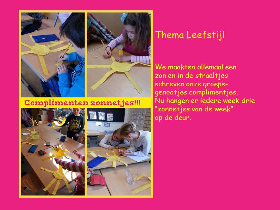 Thema kunst We leren over Mondriaan, Da Vinci, Van Gogh etc.