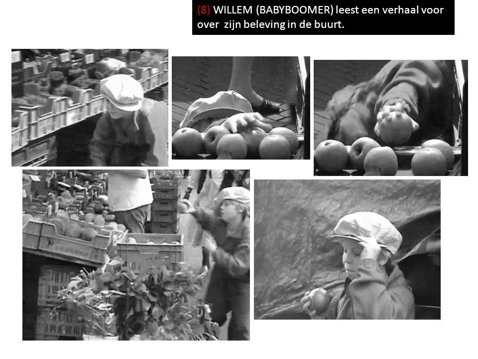 (8) WILLEM (BABYBOOMER) leest een verhaal voor over zijn beleving in de buurt.