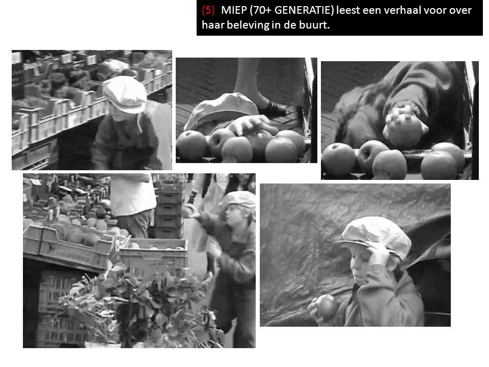 (5) MIEP (70+ GENERATIE) leest een verhaal voor over haar beleving in de buurt.