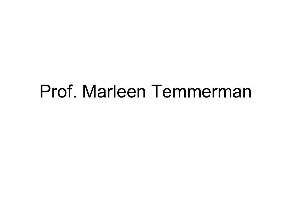 Prof. Marleen Temmerman