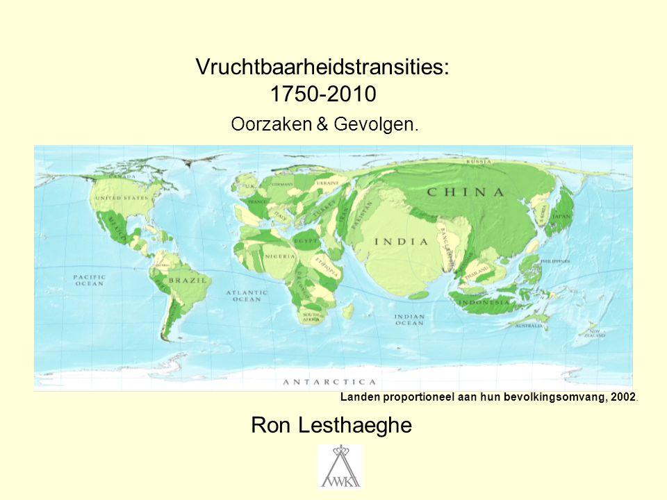 Vruchtbaarheidstransities: 1750-2010 Oorzaken & Gevolgen.
